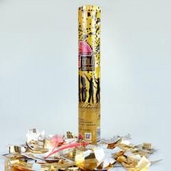 30 cm Gold Konfeti