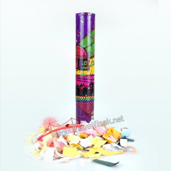 30 cm Karnaval Renkli Konfeti