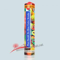 Renkli Sis Bombası Mavi 1 dk