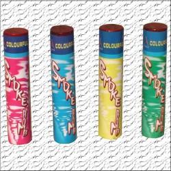 Renkli Sis Bombası 30 Saniye