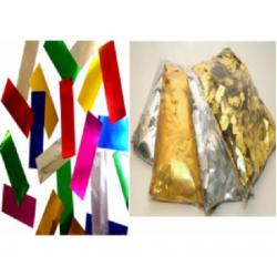 Metalize Renk Konfeti Kağıdı
